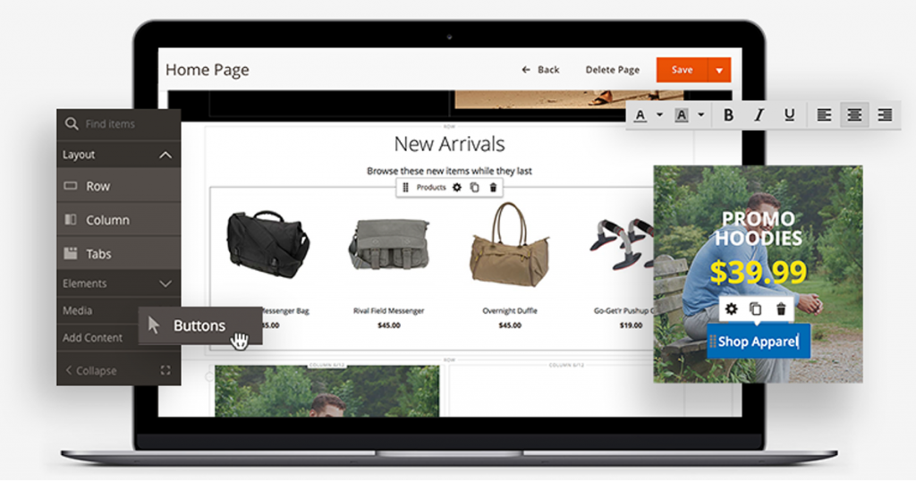 Magento Page Builder Featured Image